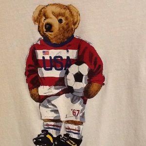 POLO Ralph Lauren Limited Edition SOCCER Bear XXL